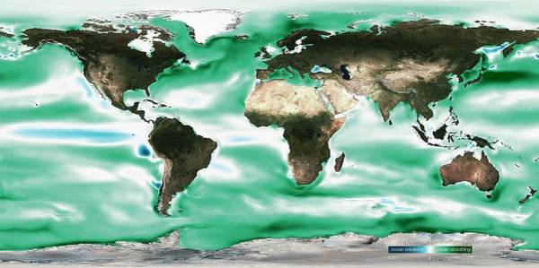 Earth Observation Wall Art - Photograph - Ocean-atmosphere Co2 Exchange by Noaa
