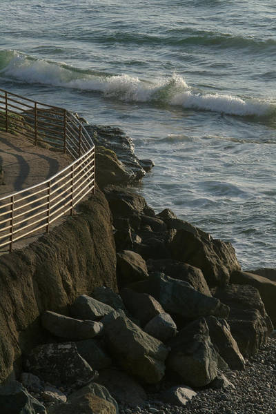 Photograph - Ocean Beach Boat Ramp by Wesley Elsberry