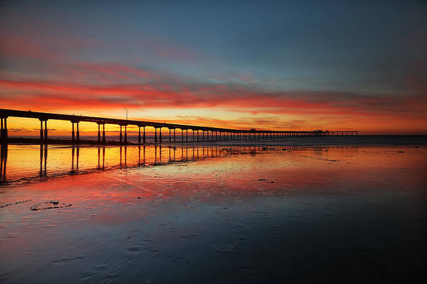 Wall Art - Photograph - Ocean Beach California Pier 3 by Larry Marshall