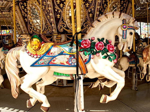 Photograph - Ocean City Carousel by Kristia Adams
