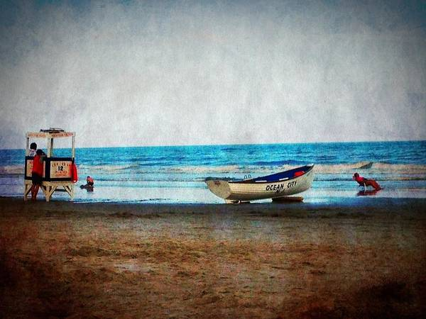 Photograph - Ocean City - Sink My Boat by Richard Reeve