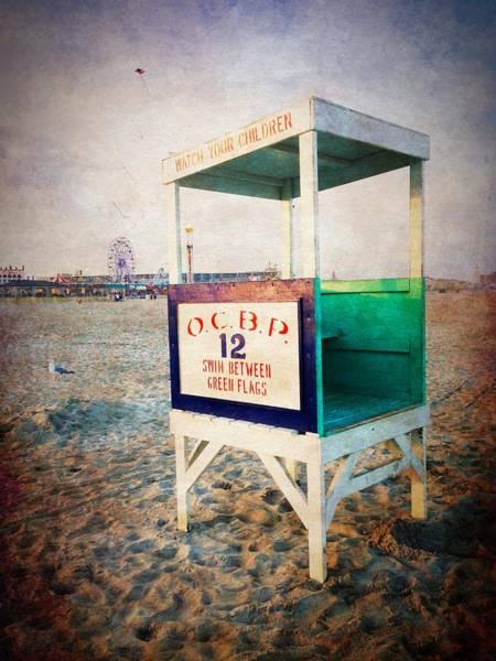 Photograph - Ocean City - Swim Between Flags by Richard Reeve