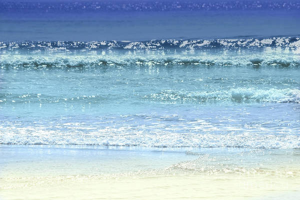 Wall Art - Photograph - Ocean Colors Abstract by Elena Elisseeva