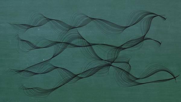 Mixed Media - Ocean Currents by Marian Palucci-Lonzetta