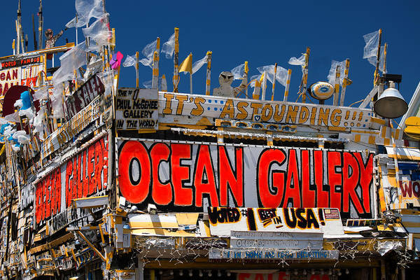 Photograph - Ocean Gallery In Ocean City Md by Bill Swartwout Photography