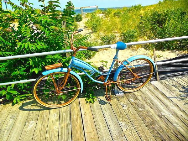 Photograph - Ocean Grove Bike by Joan Reese