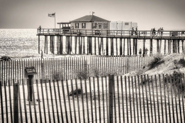 Photograph - Ocean Grove Fishing Club by Steve Stanger