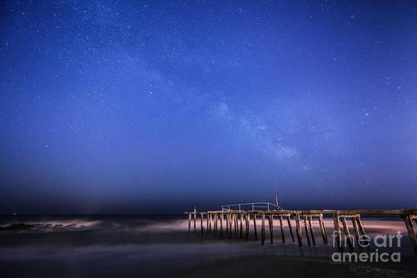 Ocean Grove Photograph - Ocean Grove Milky Way by Michael Ver Sprill