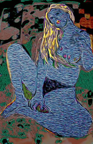 Wall Art - Painting - Ocean by Noredin Morgan