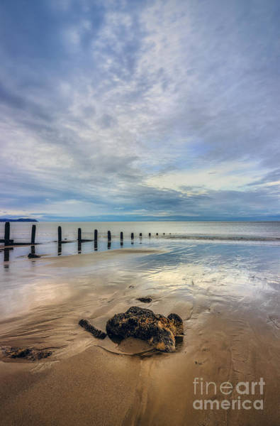 Photograph - Ocean Reflections by Ian Mitchell