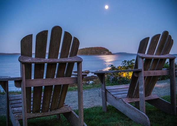 Adirondack Chair Wall Art - Photograph - Ocean Seats by Kristopher Schoenleber