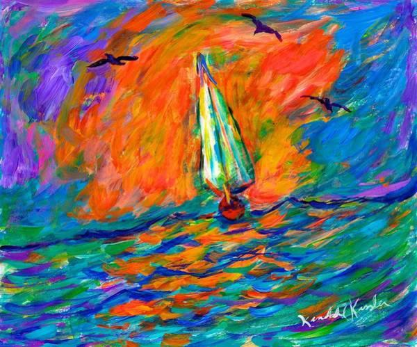 Painting - Ocean Shift by Kendall Kessler