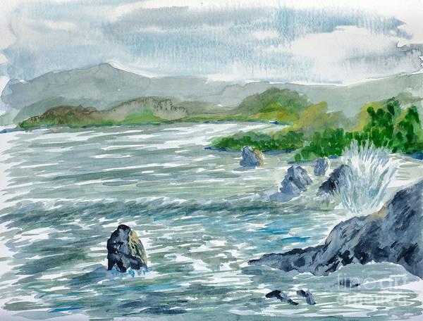 Painting - Ocean Spray by Walt Brodis