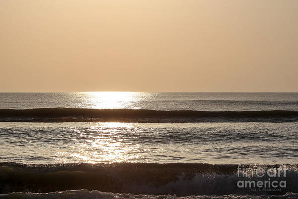 Ormond Photograph - Ocean Sunrise by Todd Blanchard