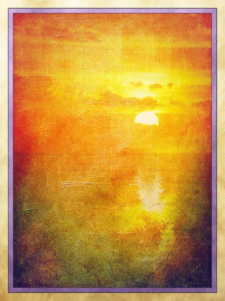 Digital Art - Ocean Sunset by Rick Wicker