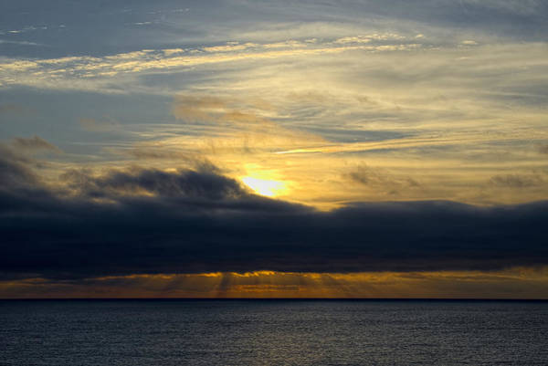 Photograph - Ocean Sunset Time by Lucinda Walter