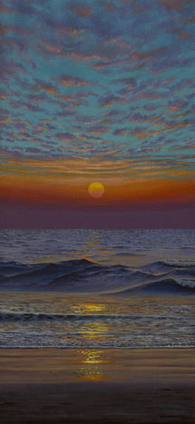 Wall Art - Painting - Ocean. Sunset by Vrindavan Das