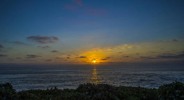 Photograph - Ocean Sunset by William Bitman