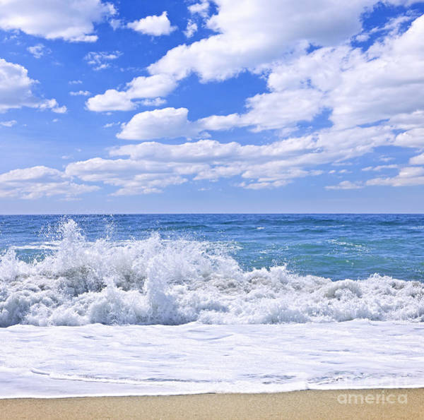 Pacific Wall Art - Photograph - Ocean Surf by Elena Elisseeva
