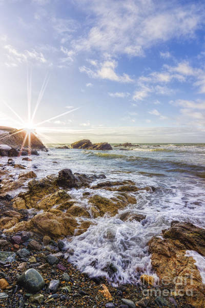 Photograph - Ocean Surf by Ian Mitchell