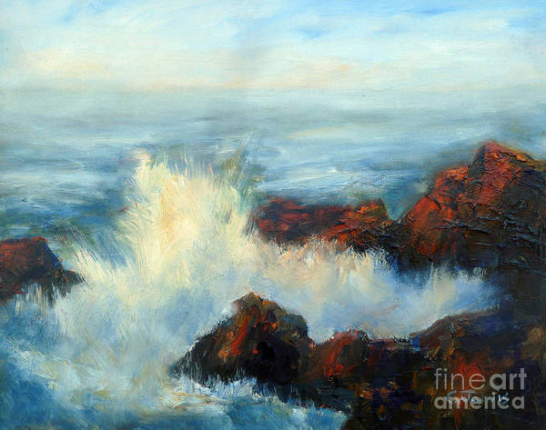 Painting - Ocean Wave by Carolyn Jarvis