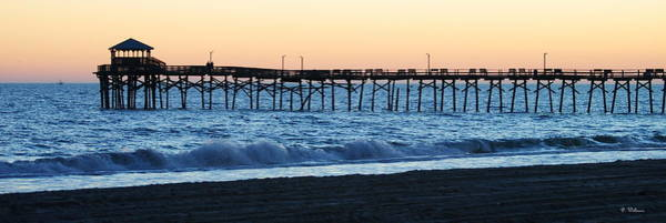 Photograph - Oceanana Pier After Sunset by Dan Williams