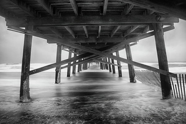 Carolina Photograph - Oceanana Pier by Errick Cameron
