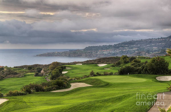 Photograph - Oceanfront Golf Course by Eddie Yerkish