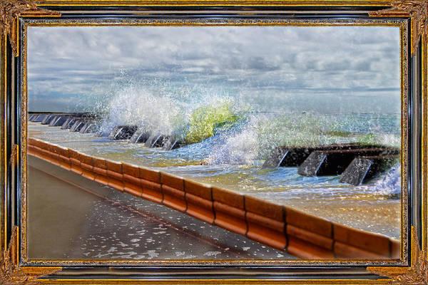 Peace And Harmony Wall Art - Mixed Media - Oceanic Notes by Betsy Knapp