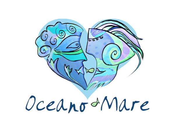 Hana Digital Art - Oceano Mare by Hana Pingitzer