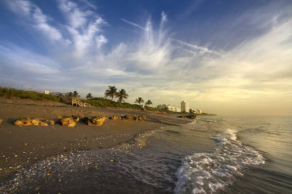 Singer Island Photograph - Ocean's Soft Light by Debra and Dave Vanderlaan