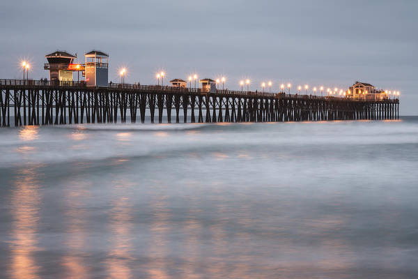 Photograph - Oceanside Pier 1 by Lee Kirchhevel