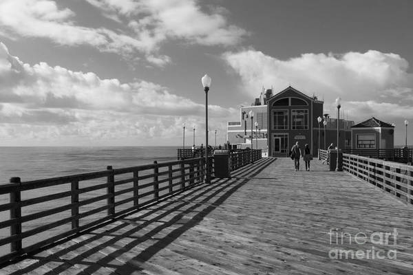 Wall Art - Photograph - Oceanside Pier by Ana V Ramirez