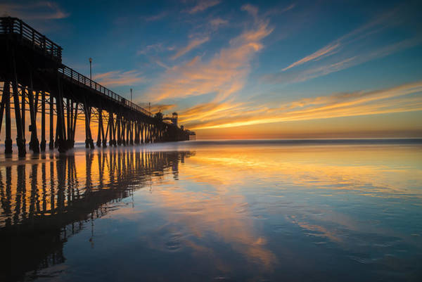 Wall Art - Photograph - Oceanside Reflections 2 by Larry Marshall