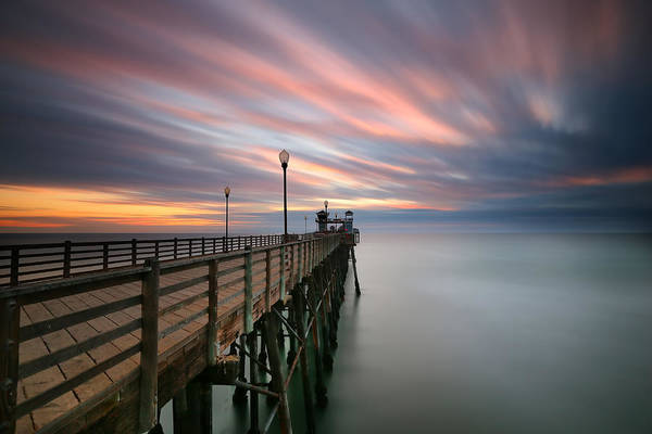 Wall Art - Photograph - Oceanside Sunset 14 by Larry Marshall