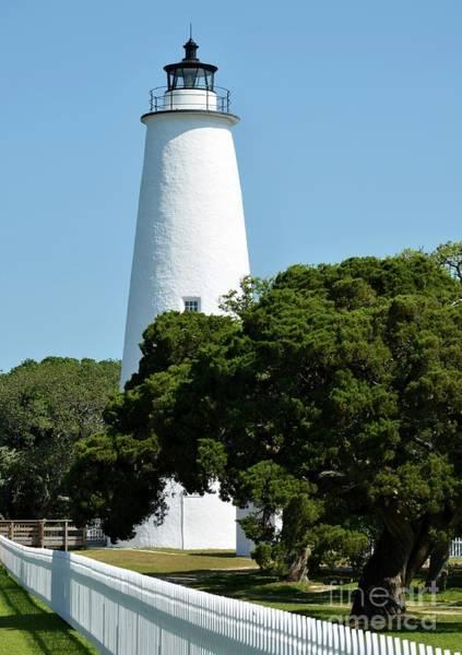 Photograph - Ocracoke Island Light by Mel Steinhauer