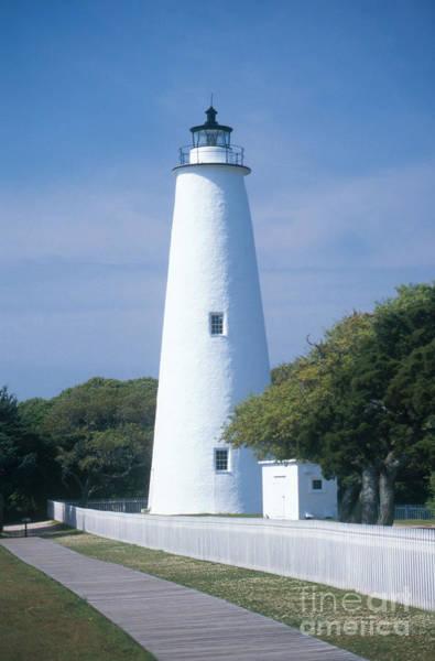 Ocracoke Lighthouse Photograph - Ocracoke Lighthouse by Bruce Roberts