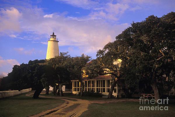Ocracoke Lighthouse Photograph - Ocracoke Lighthouse - Fs000616 by Daniel Dempster
