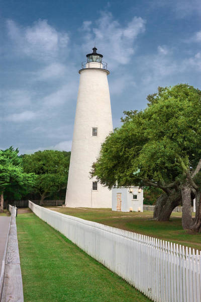 Photograph - Ocracoke Lighthouse by Mary Almond