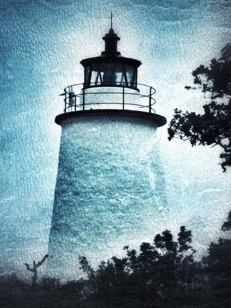 Ocracoke Lighthouse Photograph - Ocracoke Lighthouse by Patricia Januszkiewicz