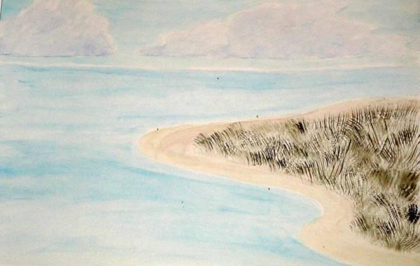 Wall Art - Painting - Ocracoke Marsh by Valerie Howell