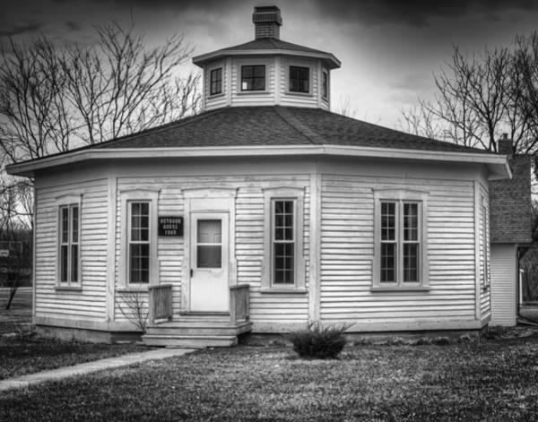 Wall Art - Photograph - Octagon House 1868 by Thomas Young