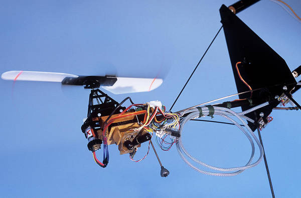 Coverts Photograph - Octave Microdrone Research by Philippe Psaila/science Photo Library