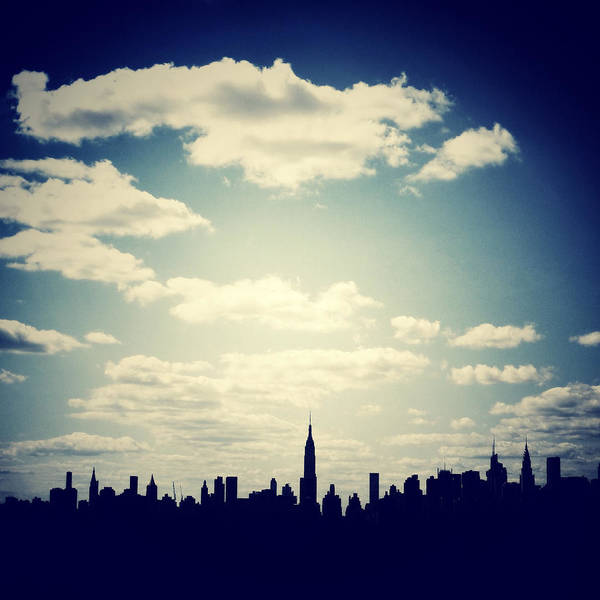 Photograph - October Blue In Nyc by Natasha Marco