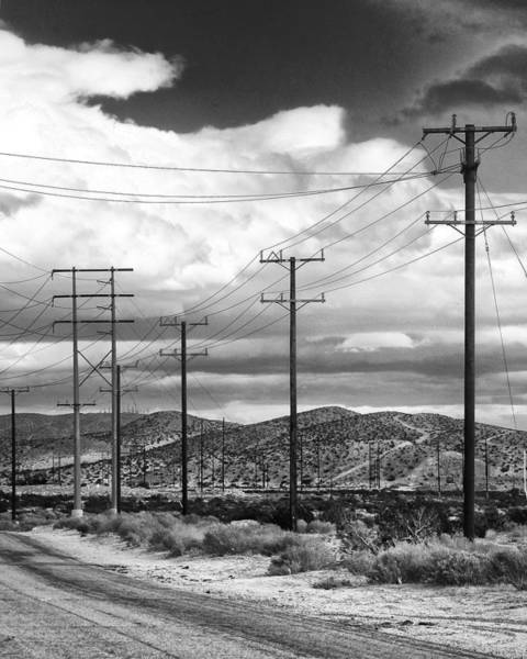 Rancho Mirage Photograph - October Road Palm Springs by William Dey