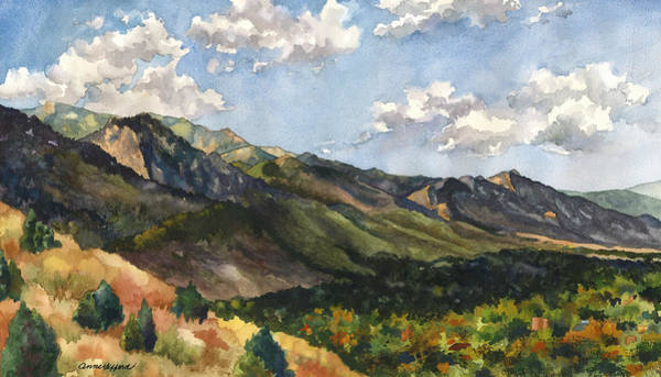 Colorado Wall Art - Painting - October Shadows by Anne Gifford