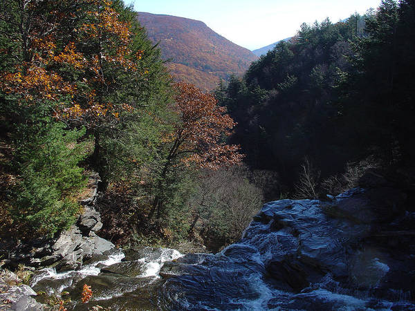 Haines Falls Photograph - October Tessing The Kaaterskill Clove by Terrance DePietro