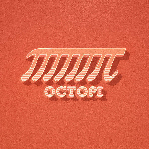 Wall Art - Digital Art - Octopi Pi Funny Nerd And Geek Humor by Philipp Rietz