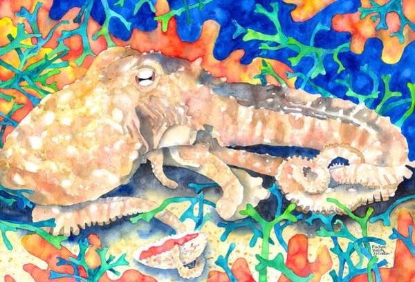 Octopus Delight Art Print