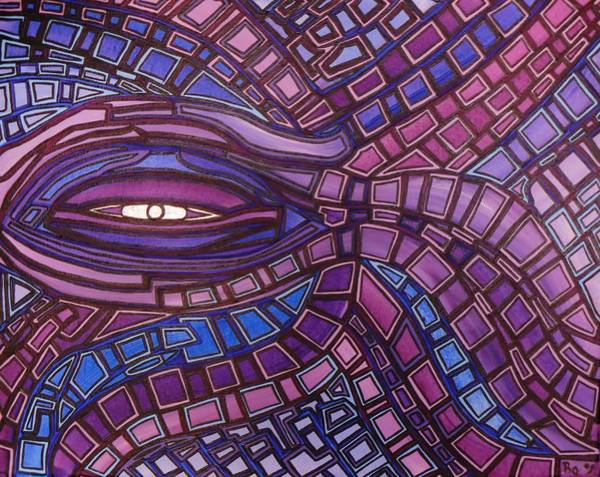 Painting - Octopus Eye by Barbara St Jean